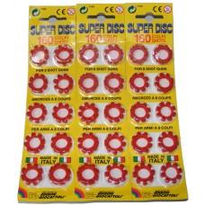 480 Edison Giocattoli 8-Shot Super Disc Caps (60 x 8-shot rings)