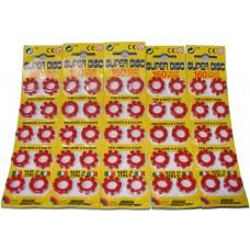 800 Edison Giocattoli 8-Shot Super Disc Caps (100 x 8-shot rings)
